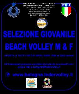 SELEZIONE PROVINCIALE BEACH VOLLEY BOLOGNA