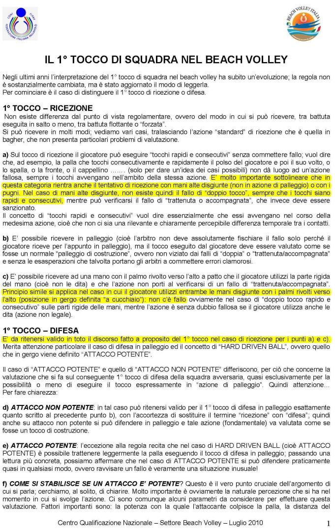 casistica regole fivb fipav beach volley   BVC - Beach